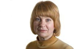 Mittler-Alter Frau Lizenzfreies Stockbild