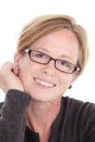Mittlere gealterte Frau Stockfotografie