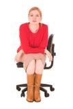Mittlere gealterte Geschäftsfrau Lizenzfreie Stockfotos