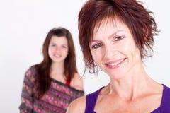 Mittlere gealterte Mamma Stockfotografie