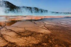 Mittlere Geysir-Becken-Magie Lizenzfreie Stockfotos