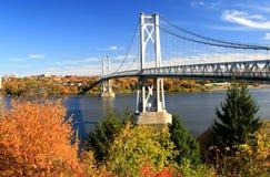 Mittlere Hudson-Brücke Stockfotografie