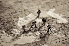 Mittlere Osten-Konfliktkonzept Lizenzfreie Stockfotos