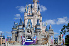 Mittleren Disneys magisches Schloss Florida Lizenzfreie Stockfotografie
