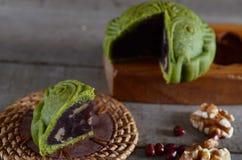 Mittlerer Herbstmondkuchen Lizenzfreies Stockfoto
