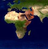 Mittlerer Osten vektor abbildung