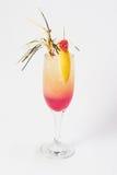 Mittleres rosafarbenes Cocktail Stockbild