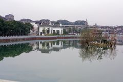 Mittleres Stangen-Qingyunspektrum Lizenzfreies Stockbild