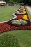 mittstaden blommar parken riga Royaltyfri Fotografi