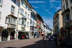 mittstaden schaffhausen Royaltyfri Bild
