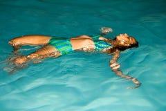 Mittwoch auf Wasser Lizenzfreies Stockfoto