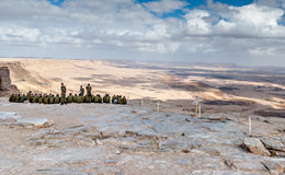 MITZPE RAMON, ISRAEL - DECEMBER 15, 2008: vicinity of Mitzpe Ramon Stock Image