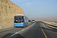 Mitzpe Ramon. Passing through Mitzpe Ramon on the way to Eilat, Israel Royalty Free Stock Image