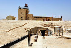 Mitzpe Revivim Museum in the Negev Desert Royalty Free Stock Photos