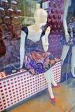 Miu Miu pokazu okno, Pekin, Chiny Obrazy Stock