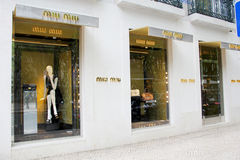 Miu Miu store Stock Photo