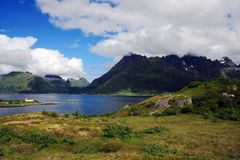 Miuntains in Norway Royalty Free Stock Photography