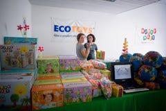 Miveg event in Milan on september 2013 Stock Photos