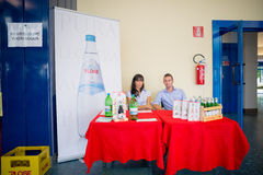 Miveg event in Milan on september 2013 Stock Photography