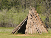 Miwok dwelling Stock Photos