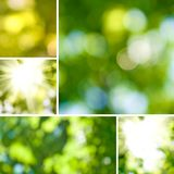 Mix of abstract images Royalty Free Stock Images