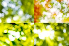Mix of abstract images Stock Photos