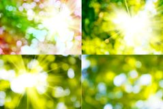 Mix of abstract images Royalty Free Stock Photo