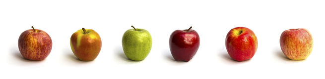 Mix apple  Royalty Free Stock Image