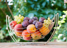 Mix of autumn fruits Royalty Free Stock Images