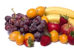Mix av frukter arkivfoto