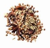 Mix av kryddan arkivbilder