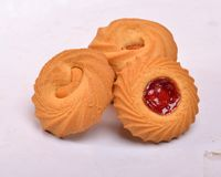 Mix bakery biscuit set Royalty Free Stock Images