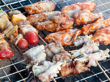 Mix barbecue Royalty Free Stock Photos