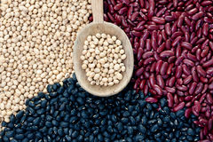 Mix Beans Stock Photo