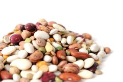 Mix beans Stock Images