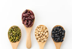 mix beans Royalty Free Stock Photos