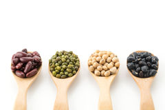 mix beans Royalty Free Stock Images