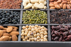 Mix beans Royalty Free Stock Photography