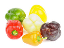 Mix Bell Peppers Stock Photography