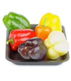 Mix Bell Peppers Stock Photo