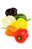 Mix Bell Peppers Royalty Free Stock Images