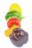 Mix Bell Peppers Royalty Free Stock Photo