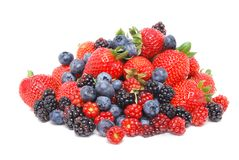 Mix Of Berries Royalty Free Stock Images