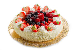 Mix berries cake Royalty Free Stock Image