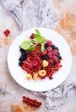 Mix berries Stock Photography
