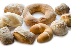Mix of bread Royalty Free Stock Image