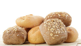 Mix of bread Stock Photography