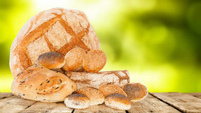 Mix Of Breads Royalty Free Stock Photo