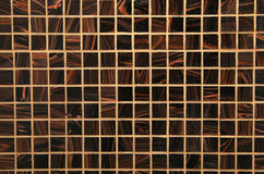 Mix brown shiny glass mosaic Stock Photography