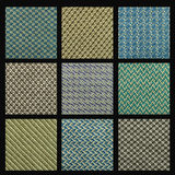 Mix cloth texture Stock Image